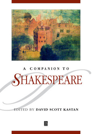 A Companion to Shakespeare (0631218785) cover image