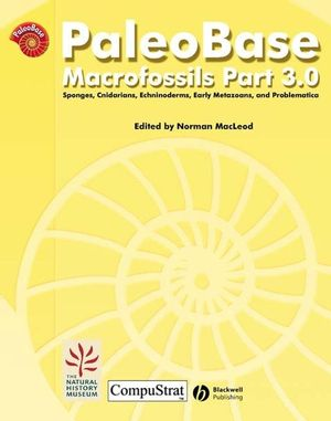 PaleoBase: Macrofossils, Part 3 (Site Licence) (0632064285) cover image