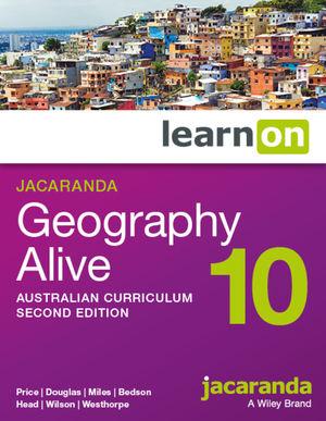Jacaranda Geography Alive 10 Australian Curriculum learnON (Online Purchase)