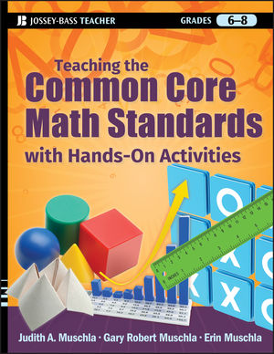 Teaching the Common Core Math Standards with Hands-On Activities, Grades 6-8 (1118237285) cover image