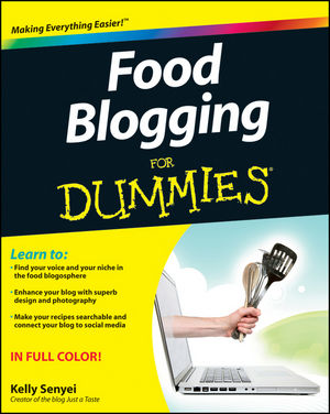 Book Cover Image for Food Blogging For Dummies