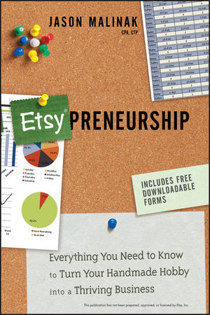 Etsy-preneurship: Everything You Need to Know to Turn Your Handmade Hobby into a Thriving Business (1118378385) cover image
