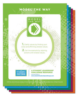 The Student Leadership Challenge: The Five Practices Individual Poster Set (One Poster for Each Practice) (1118692985) cover image