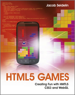 Book Cover Image for HTML5 Games: Creating Fun with HTML5, CSS3, and WebGL