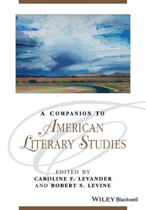 A Companion to American Literary Studies (1444343785) cover image
