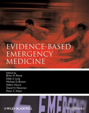 Evidence-Based Emergency Medicine (1444358685) cover image