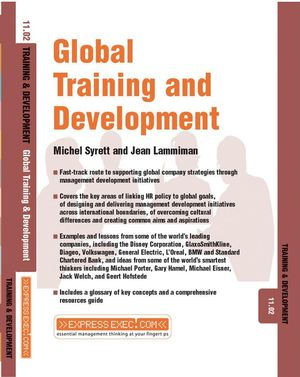 Global Training and Development: Training and Development 11.2 (1841124885) cover image