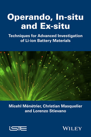 In Situ and Operando Investigation of Batteries and Battery Materials: Analytical Techniques