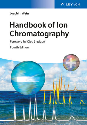 Handbook of Ion Chromatography, 3 Volume Set, 4th Edition (3527329285) cover image