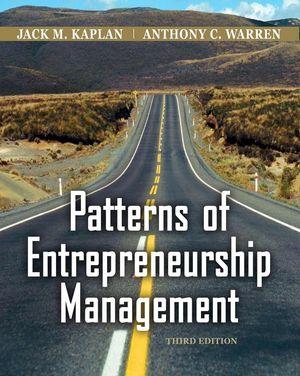 Patterns of Entrepreneurship Management, 3rd Edition (EHEP000185) cover image
