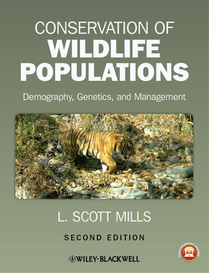 Conservation of Wildlife Populations: Demography, Genetics, and Management, 2nd Edition (EHEP002685) cover image