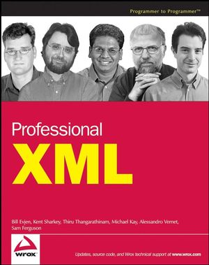 Professional XML (0470167386) cover image