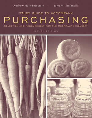 Study Guide to accompany Purchasing: Selection and Procurment for the Hospitality Industry, 8e (0470316586) cover image