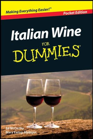 Italian Wine For Dummies, Mini Edition