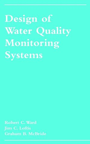 Design of Water Quality Monitoring Systems (0471283886) cover image