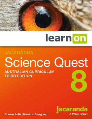Jacaranda Science Quest 8 3e Australian curriculum learnON (Online Purchase)