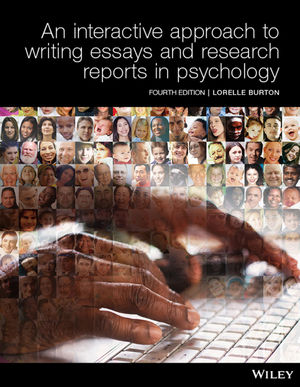 Interactive Approach to Writing Essays and Research Reports in Psychology, 4th Edition