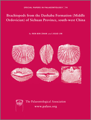 Special Papers in Palaeontology, Number 74, Brachiopods from the Dashaba Formation (Middle Ordovician) of Sichuan Province, south-west China