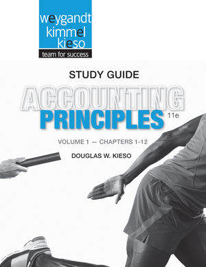 Study Guide Volume I to accompany Accounting Principles, 11th Edition, Study Guide Volume I  (1118342186) cover image