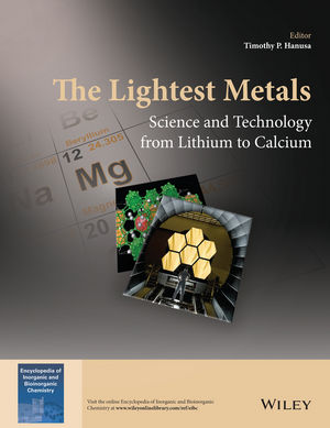 The Lightest Metals: Science and Technology from Lithium to Calcium