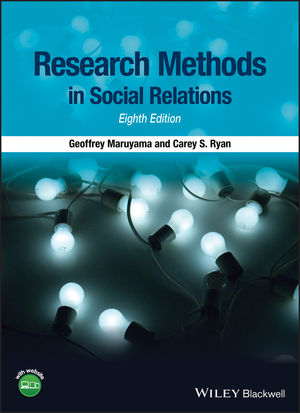 Research Methods in Social Relations, 8th Edition (1118764986) cover image