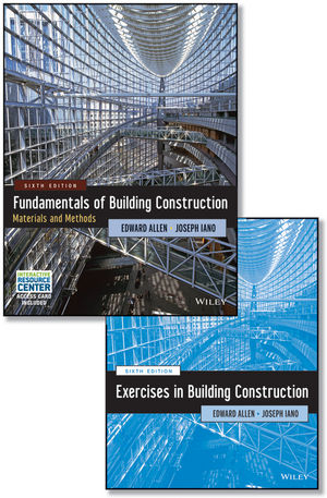 Fundamentals of Building Construction, 6e with Interactive Resource Center Access Card and Construction Exercises Set