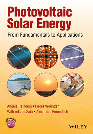 Photovoltaic Solar Energy: From Fundamentals to Applications (1118927486) cover image