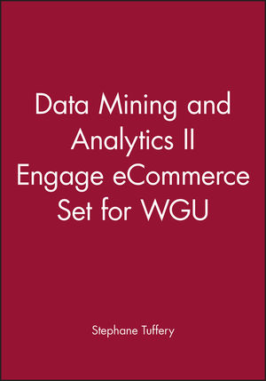 Data Mining and Analytics II Engage eCommerce Set for WGU