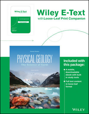 Physical Geology, Loose-Leaf Print Companion, 3rd Edition