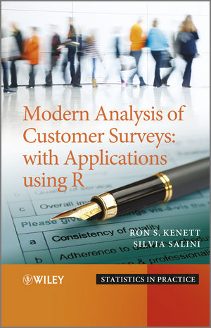 Modern Analysis of Customer Surveys: with Applications using R (1119961386) cover image