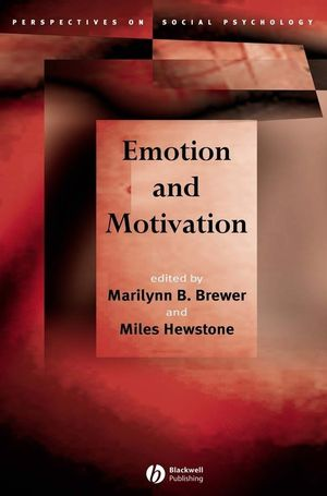 Emotion and Motivation (1405110686) cover image