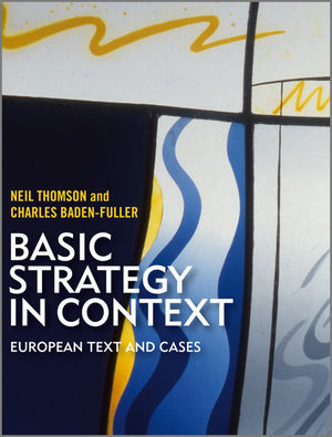 Basic Strategy in Context: European text and cases (1405161086) cover image