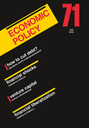 Economic Policy 71 (1444350986) cover image