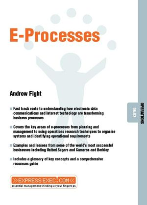 E-Processes: Operations 06.03 (1841123986) cover image