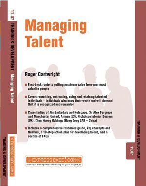 Managing Talent: Training and Development 11.7