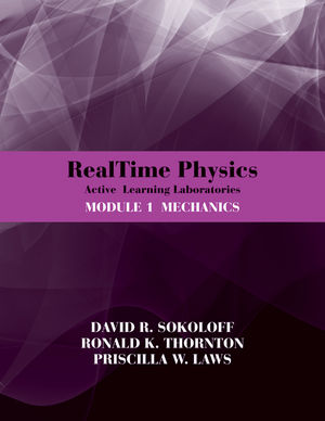 RealTime Physics Active Learning Laboratories Module 1 Mechanics (EHEP001986) cover image