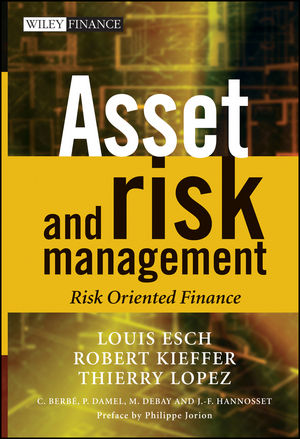 Asset and Risk Management: Risk Oriented Finance (0470012587) cover image