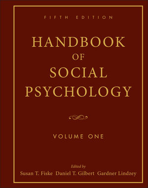 Handbook of Social Psychology, Volume 1, 5th Edition