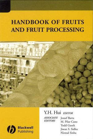 Handbook of Fruits and Fruit Processing (0470276487) cover image