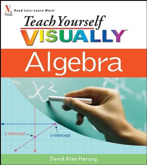Teach Yourself VISUALLY Algebra (0470281987) cover image