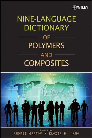 Nine-Language Dictionary of Polymers and Composites (0470282487) cover image