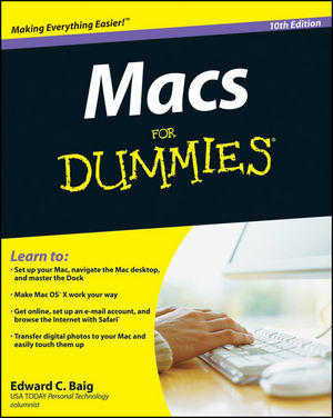 Macs For Dummies, 10th Edition