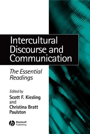 Intercultural Discourse and Communication: The Essential Readings (0470758287) cover image