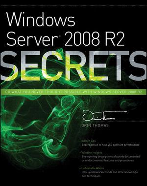 Windows Server 2008 R2 Secrets (0470886587) cover image