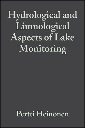Hydrological and Limnological Aspects of Lake Monitoring (0471899887) cover image