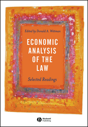 Economic Analysis of the Law: Selected Readings (0631231587) cover image