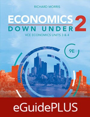 Economics Down Under Book 2 VCE Economics Units 3&4 9e eGuidePLUS (Online Purchase)