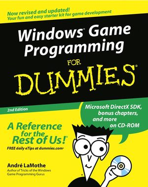 Windows Game Programming For Dummies, 2nd Edition (0764516787) cover image