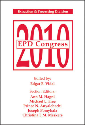 EPD Congress 2010: Extraction and Processing Division (0873397487) cover image