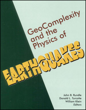 Geocomplexity and the Physics of Earthquakes, Volume 120 (0875909787) cover image